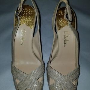 Cole Haan Nude/Cream Heels